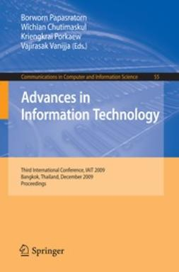 Chutimaskul, Wichian - Advances in Information Technology, ebook
