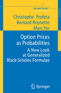 Profeta, Cristophe - Option Prices as Probabilities, ebook