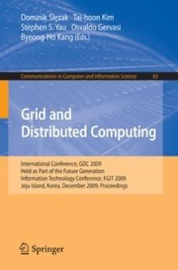 Gervasi, Osvaldo - Grid and Distributed Computing, ebook