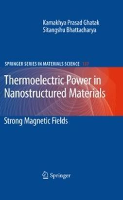 Ghatak, Kamakhya Prasad - Thermoelectric Power in Nanostructured Materials, ebook