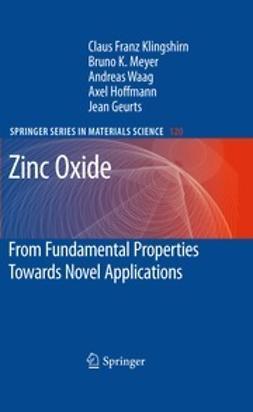 Klingshirn, Claus F. - Zinc Oxide, ebook