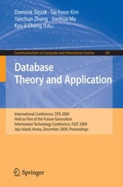 Chung, Kyo-il - Database Theory and Application, ebook