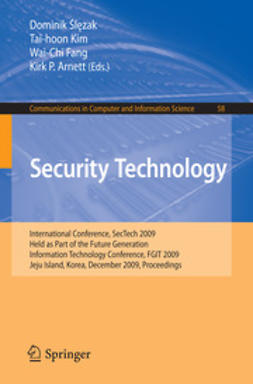 Ślęzak, Dominik - Security Technology, ebook