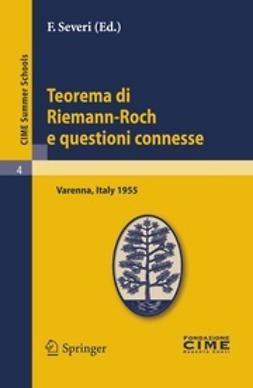 Severi, F. - Teorema di Riemann-Roch e questioni connesse, ebook