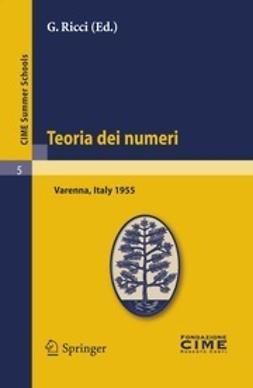 Ricci, G. - Teoria dei numeri, ebook