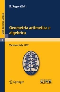 Segre, B. - Geometria aritmetica e algebrica, ebook