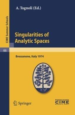 Tognoli, A. - Singularities of Analytic Spaces, ebook