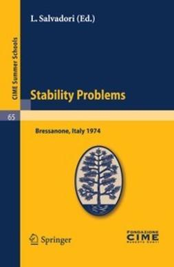 Salvadori, L. - Stability Problems, ebook