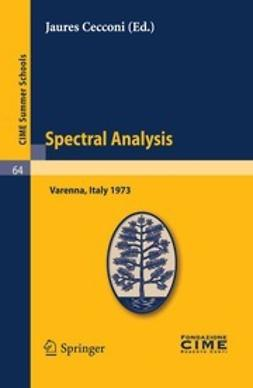 Cecconi, Jaures - Spectral Analysis, ebook