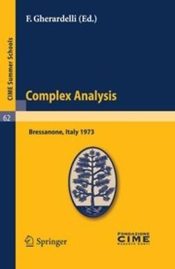 Gherardelli, F. - Complex Analysis, ebook