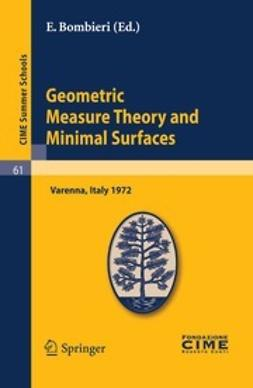 Bombieri, E. - Geometric Measure Theory and Minimal Surfaces, e-bok