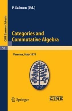 Salmon, P. - Categories and Commutative Algebra, e-kirja