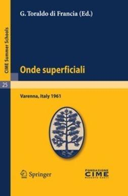 Francia, G. Toraldo - Onde superficiali, ebook