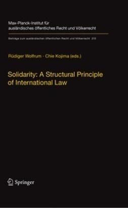 Wolfrum, Rüdiger - Solidarity: A Structural Principle of International Law, ebook
