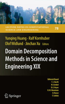 Huang, Yunqing - Domain Decomposition Methods in Science and Engineering XIX, e-kirja