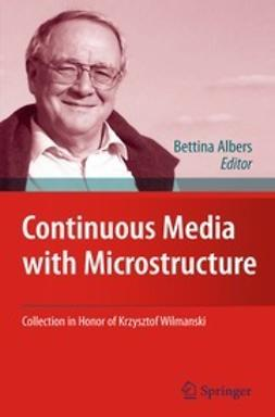 Albers, Bettina - Continuous Media with Microstructure, e-kirja