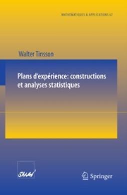 - Plans d'expérience: constructions et analyses statistiques, ebook