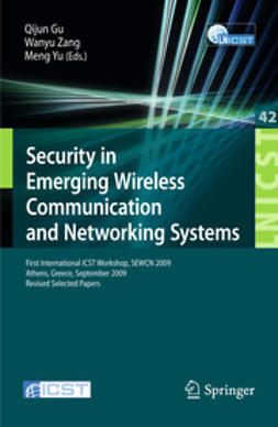 Gu, Qijun - Security in Emerging Wireless Communication and Networking Systems, ebook