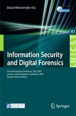 Weerasinghe, Dasun - Information Security and Digital Forensics, e-kirja
