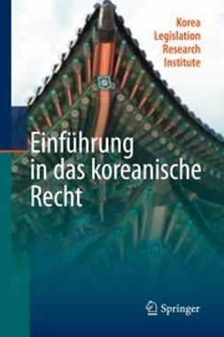 - Einführung in das koreanische Recht, ebook