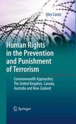 Conte, Alex - Human Rights in the Prevention and Punishment of Terrorism, ebook