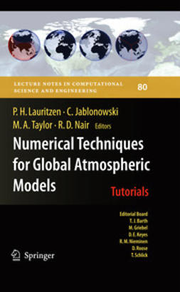 Lauritzen, Peter - Numerical Techniques for Global Atmospheric Models, ebook