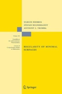 Dierkes, Ulrich - Regularity of Minimal Surfaces, ebook