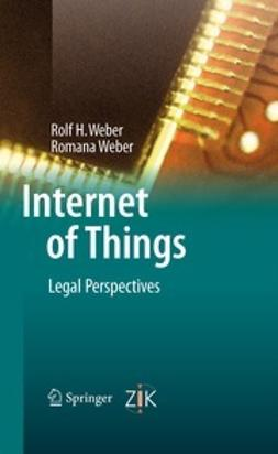 Weber, Rolf H. - Internet of Things, ebook