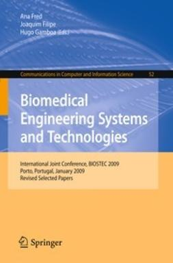 Filipe, Joaquim - Biomedical Engineering Systems and Technologies, ebook