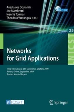 Doulamis, Anastasios - Networks for Grid Applications, ebook