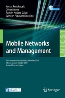 Blume, Oliver - Mobile Networks and Management, ebook