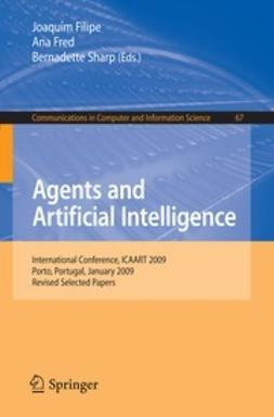 Filipe, Joaquim - Agents and Artificial Intelligence, ebook