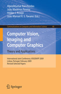 Araújo, Hélder J. - Computer Vision, Imaging and Computer Graphics. Theory and Applications, e-bok