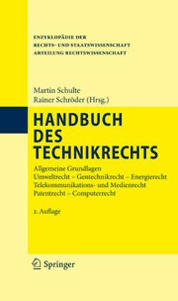 Schulte, Martin - Handbuch des Technikrechts, ebook
