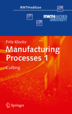 Klocke, Fritz - Manufacturing Processes 1, ebook