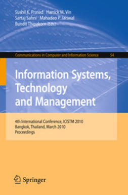 Prasad, Sushil K. - Information Systems, Technology and Management, ebook