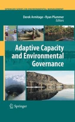 Armitage, Derek - Adaptive Capacity and Environmental Governance, ebook