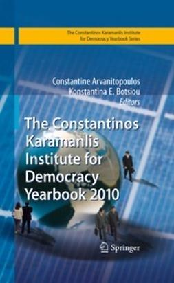 Arvanitopoulos, Constantine - The Constantinos Karamanlis Institute for Democracy Yearbook 2010, ebook