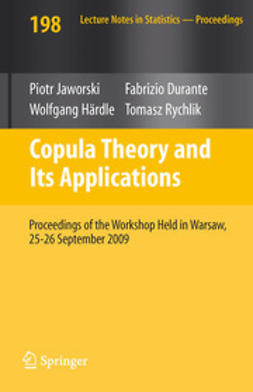 Jaworski, Piotr - Copula Theory and Its Applications, ebook