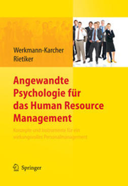 Werkmann-Karcher, Birgit - Angewandte Psychologie für das Human Resource Management, ebook