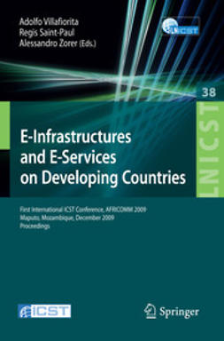 Saint-Paul, Regis - E-Infrastructures and E-Services on Developing Countries, ebook