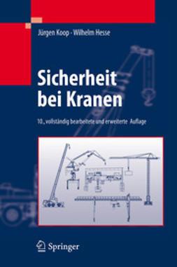 Koop, Jürgen - Sicherheit bei Kranen, ebook