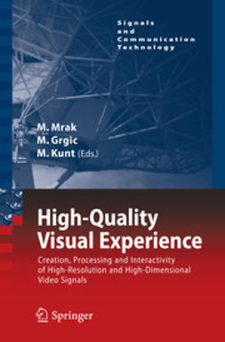 Mrak, Marta - High-Quality Visual Experience, e-bok