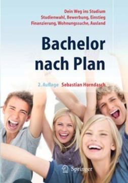 Horndasch, Sebastian - Bachelor nach Plan, ebook