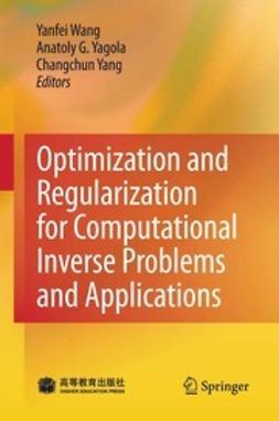 Optimization and Regularization for Computational Inverse Problems and Applications