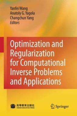 Wang, Yanfei - Optimization and Regularization for Computational Inverse Problems and Applications, ebook