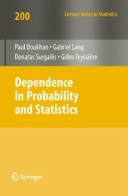 Doukhan, Paul - Dependence in Probability and Statistics, e-kirja