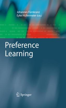 Fürnkranz, Johannes - Preference Learning, ebook