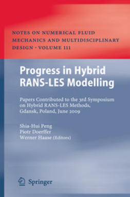 Peng, Shia-Hui - Progress in Hybrid RANS-LES Modelling, ebook