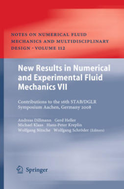 Dillmann, Andreas - New Results in Numerical and Experimental Fluid Mechanics VII, ebook